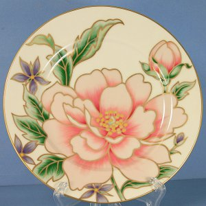 Fitz and Floyd Palace Peony Salad Plate