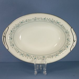"Noritake China Marlene 10"" Oval Vegetable Bowl"