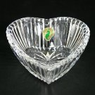 "Waterford Crystal Giftware 4"" Heart Ribbed Bowl"