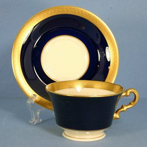 Syracuse Queen Anne Footed Cup & Saucer Set