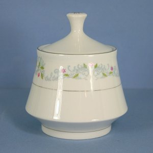 Crown Ming Harmony (Verge) Sugar Bowl &amp; Lid