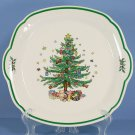 Nikko Happy Holidays Serving Tray/Cake Plate