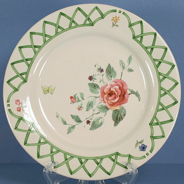 Pfaltzgraff Garden Trellis Salad Plate