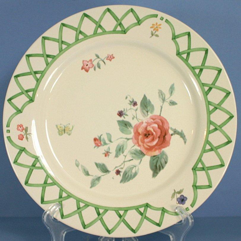 Pfaltzgraff Garden Trellis Dinner Plate