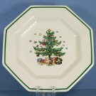 "Nikko China Christmastime 8"" Salad Plate"