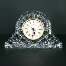 "Waterford Crystal 4"" Quartz Mantel Clock"