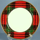 Fitz and Floyd Country Plaid Bread & Butter Plate