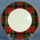 Fitz & Floyd Country Plaid Dinner Plate