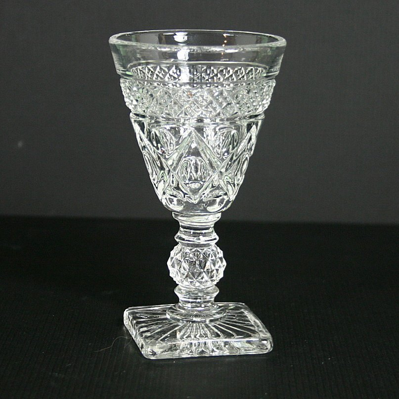 Imperial Glass-Ohio Cape Cod Clear (1602 + 160) Sherry Glass