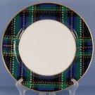 Fitz & Floyd Tartan Plaid Dinner Plate