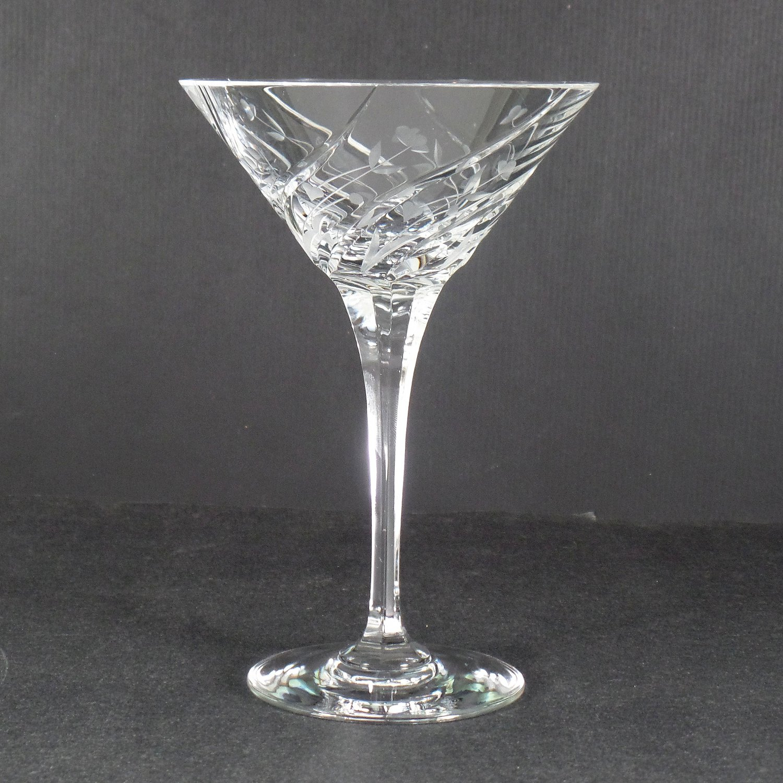 Mikasa English Garden Martini Glass