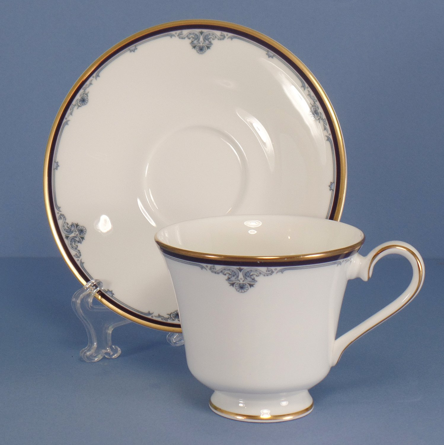 Royal Doulton Princeton Footed Cup & Saucer Set