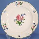 Gien China Lorraine Rose Green Dinner Plate