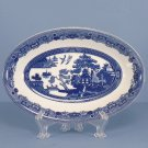 Johnson Brothers Willow Blue (England 1883) Relish/Gravy Underplate