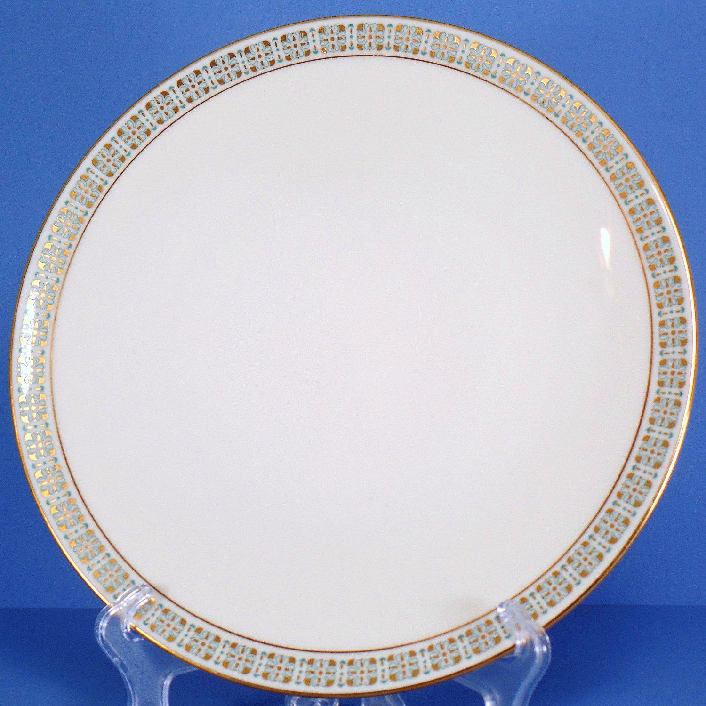 Lenox Rhythm (Turquoise & Gold) Dinner Plate