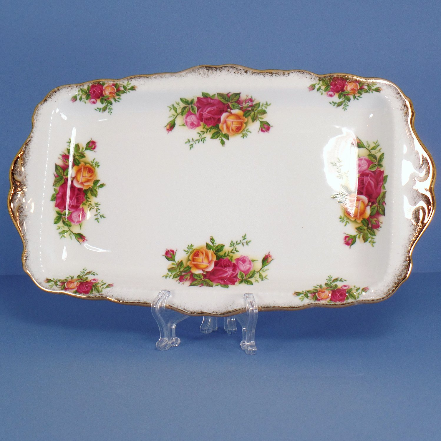 Royal Albert Old Country Roses Large Sandwich Tray