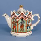 Sadler Teapot & Lid Charles I - King Of England - No Box