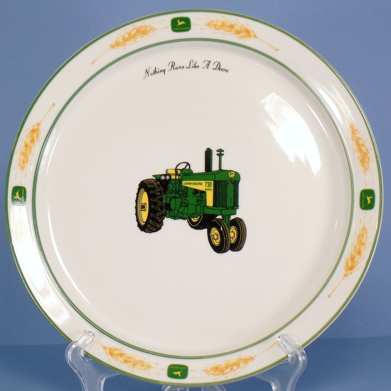 Gibson Designs John Deere Amber Fields (Coupe) Dinner Plate
