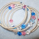 elegant swarovski bracelet