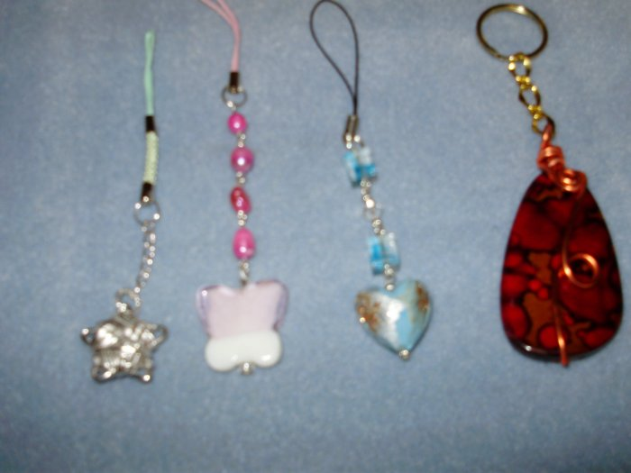 varied cell phone accesories