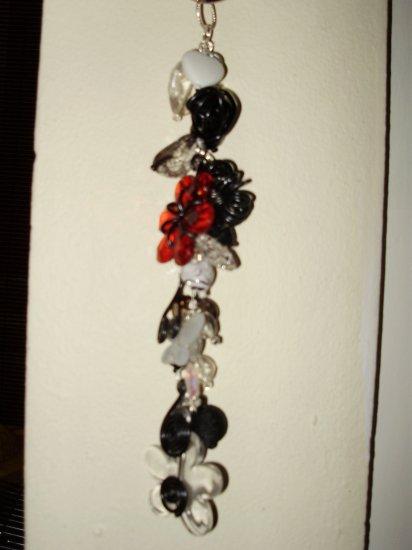 red & black key chain