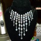 night necklace with matching bracelet and earrings