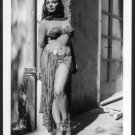 JOAN COLLINS BUSTY DANCING GAL NEW REPRINT 5X7 #2