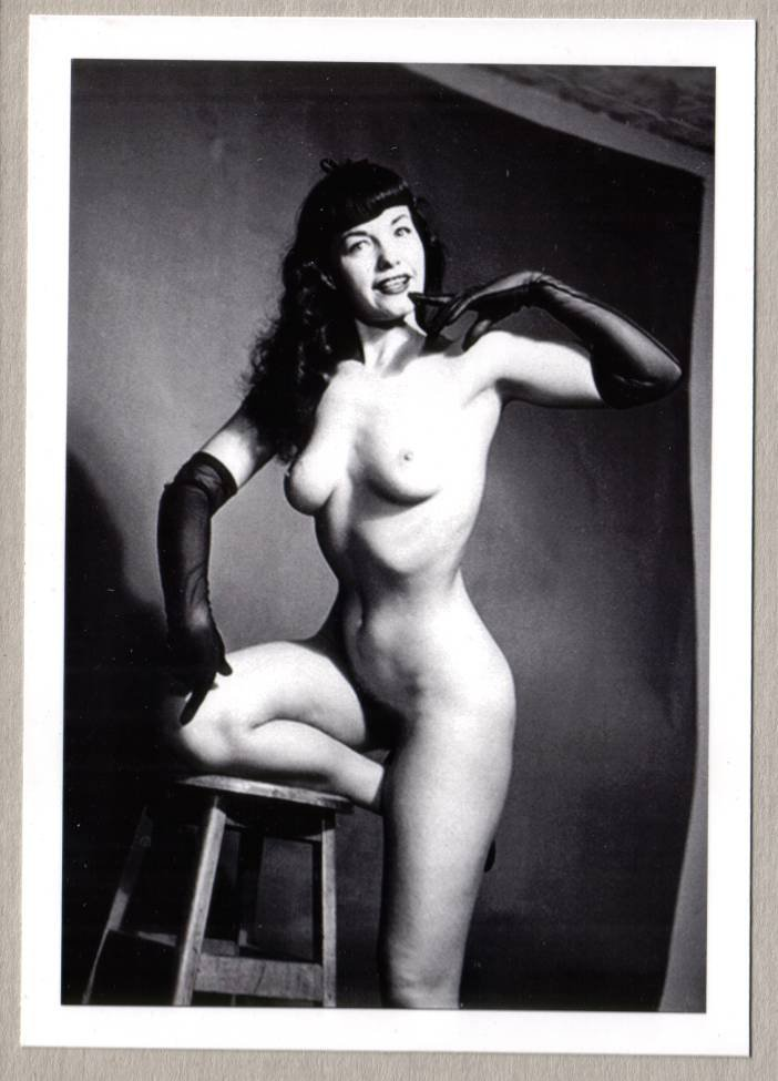 Bettie Page Hairy 37