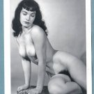 BETTY PAGE TOPLESS NUDE BREASTS HAIRY PUSSY NEW REPRINT 5X7  #9
