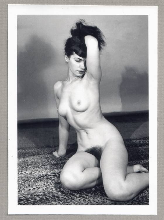 Bettie Page Hairy 109