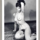 BETTY PAGE TOPLESS NUDE BREASTS HAIRY PUSSY NEW REPRINT 5X7  #31