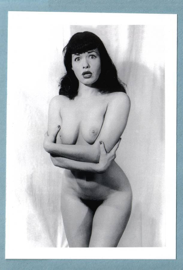 Bettie Page Hairy 46