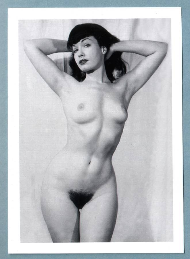 Bettie Page Hairy 70