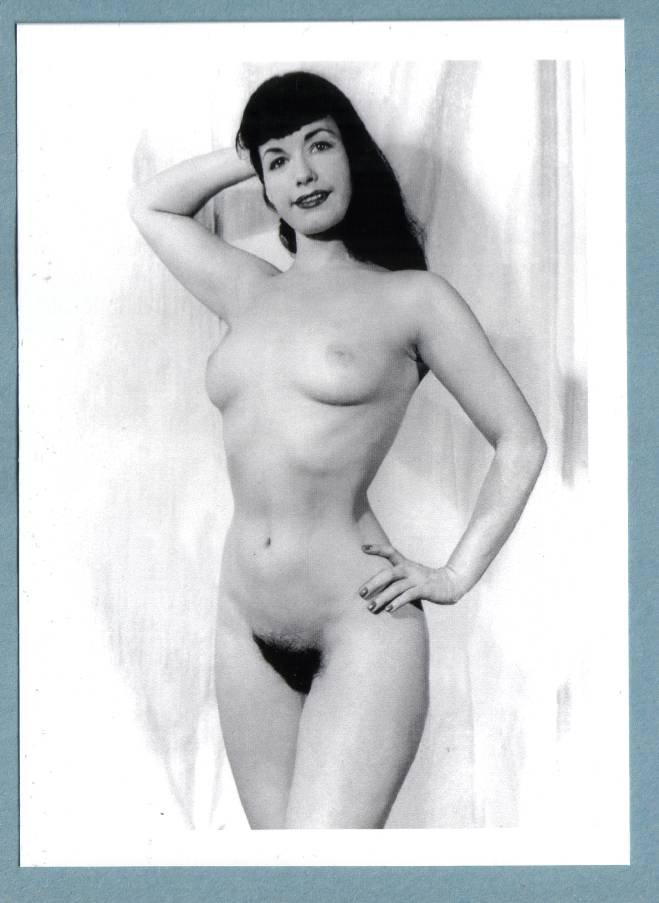 Bettie Page Nude Pussy 62