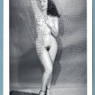 BETTY PAGE TOPLESS NUDE BREASTS HAIRY PUSSY NEW REPRINT 5X7  #152