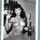 BETTY PAGE TOPLESS NUDE BREASTS NEW REPRINT 5X7  #261