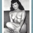 BETTY PAGE TOPLESS NUDE BREASTS NEW REPRINT 5X7  #339