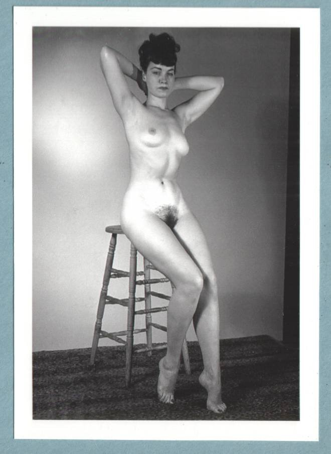 Bettie Page Hairy 81