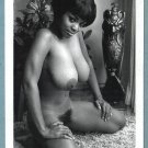EBONY ELAINE COLLINS TOPLESS NUDE HUGE BREASTS HAIRY PUSSY NEW REPRINT 5X7 #8