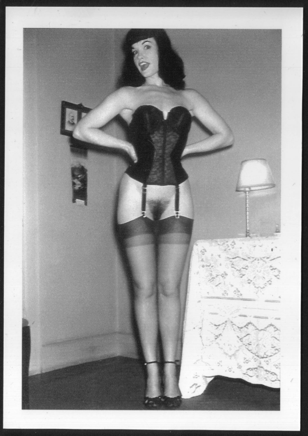 bettie page pussy