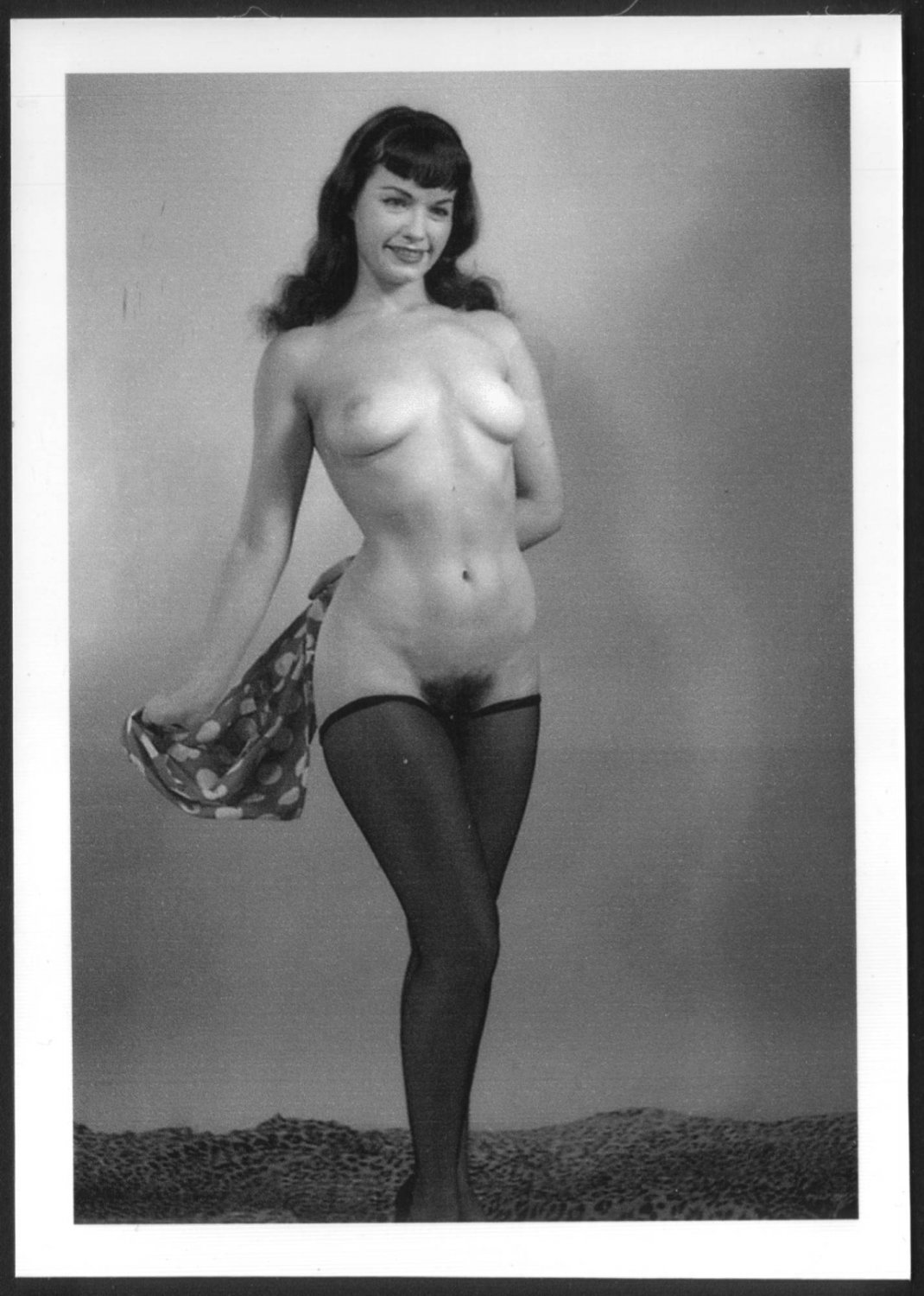 Bettie Page Hairy 5