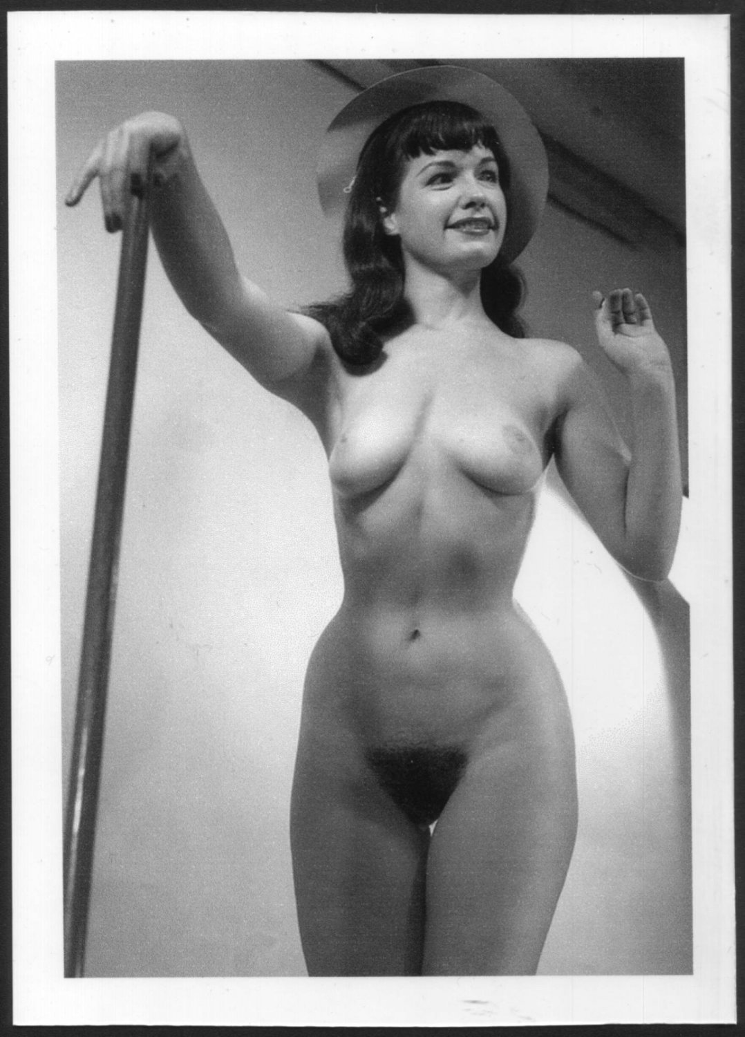 Bettie Page Hairy 17