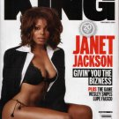 JANET JACKSON KING MAGAZINE NOVEMBER 2006
