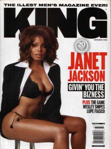 JANET JACKSON KING MAGAZINE NOVEMBER 2006