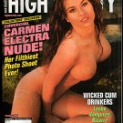 CARMEN ELECTRA HIGH SOCIETY MAGAZINE HOLIDAY ISSUE 1999