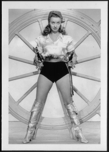 "NOEL NEILL ""LOIS LANE ACTRESS"" PIRATE COSTUME POSE NEW REPRINT  5X7   #3"