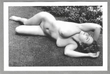 JUNE PALMER TOTALLY NUDE NEW REPRINT PHOTO 5X7 #10