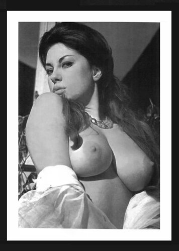 JUNE PALMER TOPLESS NUDE NEW REPRINT PHOTO 5X7 #200