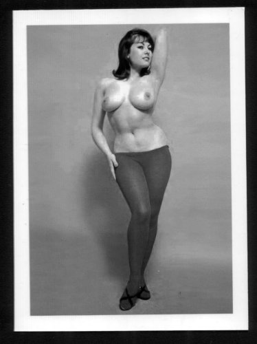 JUNE PALMER TOPLESS NUDE NEW REPRINT PHOTO 5X7 #233