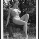 JUNE PALMER TOTALLY NUDE NEW REPRINT PHOTO 5X7 #348